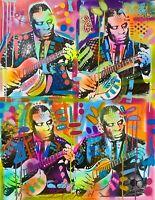 Dean Russo Art Original Artwork Howlin Wolf Blues Music Pop Art