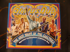 CD Box Set: Status Quo : The Last Night Of The Electris 2016 : 4 Concerts 8 CDs