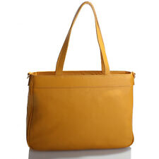 Yellow Italian Leather Handbag, Purse Hobo Bag, Satchel, Tote, Clutch