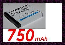 "★★★ ""750mA"" BATTERIE Type DMW-BCK7 / BCK7E ★★★ Pour PANASONIC DMC-FX80N"