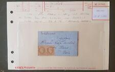 timbres France classique lettre ballon monté 1870 Napoléon yt 28×2