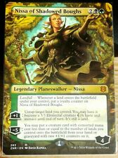 MTG Magic, Mythic FULL ART, Nissa Of Shadowed Boughs, Zendikar Rising, Top NM