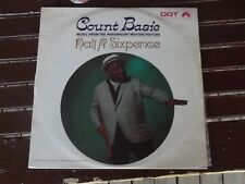 DOT RECORDS VINTAGE VINYL HALF A SIXPENCE COUNT BASIE