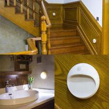 LED Battery Power PIR Motion Sensor Light Indoor Wall Stair Shed Bathroom Lamp