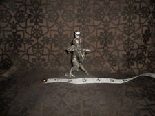 Vintage Pewter Female Dancing Sorceress w/ Magic Crystal Display Collectable