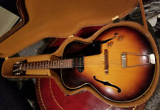 1955 Gibson ES 125 guitar with Lifton hard case in good condition
