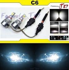 LED Kit C6 72W PS24W 5202 H16 6000K White Two Bulbs Fog Light Replacement Lamp