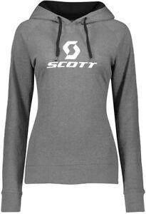 Scott 10 Icon Womens Cycling Hoody - Grey