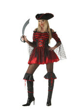 BOOTY-LICIOUS PIRATE VIXEN SEXY ADULT HALLOWEEN COSTUME WOMEN'S SIZE LARGE 10-12