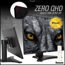 "QNIX - QHD2730R Real ZERO DP Pivot 27"" 2560 x 1440 @ 60Hz QHD/ 16:9 /Samsung PLS"