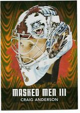 2010-11 ITG Between the Pipes Masked Men Gold /10 #MM-13 Craig Anderson