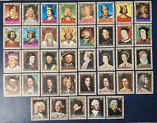 Barbuda - Complete Mounted Mint Set English Monarchs - 1970