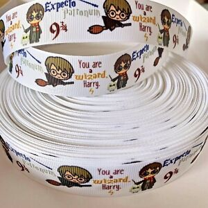 YARD HARRY POTTER WIZARD HOGWARTS GROSGRAIN RIBBON CHARACTER