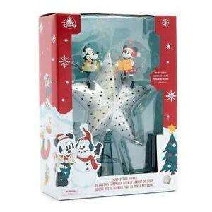 Disney Mickey and Minnie Walt`s Christmas Tree Topper - Original Disney