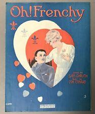 [World War I]   Oh! Frenchy by Sam Ehrlich and Con Conrad   BMC   1918