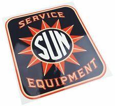 Sun Electric Service Equipment Tune Up Machine Cabinet Logo Decal Testing 1950's