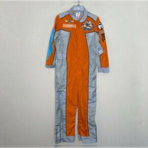 Disney Plane Fire Rescue Crew Halloween Jumpsuit Custome NWT Size 9/10