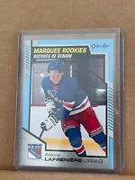 2020-21OPC Marquee Rookies BLUE ALEXIS LAFRENIERE #650  RANGERS RC