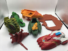 He-Man Masters of the Universe Vintage 80's Toys Vehicle Parts Lot Cat Armor