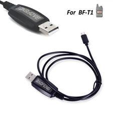 Geniune Baofeng BF-T1 Walkie talkie Radio USB Programming Cable Charger Plug