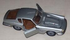Mebetoys MASERATI MISTRAL COUPE' grigia A 10 scala 1/43 Modellino originale '60