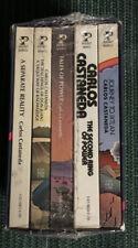 Carlos Castaneda Gift Box Edition w/ 5 Books Pocket Books New