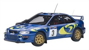 AUTOart 1/18 Subaru Impreza WRC 1997 #3 colin McRae/Nicky Gristo Champion F/S