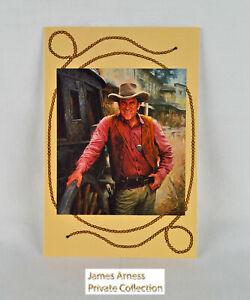 """James Arness Gunsmoke VTN """"Marshal Dillon""""  Post Card"""