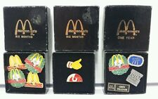 McDonalds Lot of 10 Vintage Pins Founders Day 1 Year 6 Months & More 80s 90s