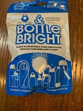 Bottle Bright Cleaning Tablets, All Natural - Removes Tough Stains.
