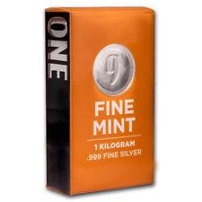 1 kilo Silver Bar - 9Fine Mint - SKU# 156276