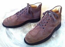 HOGAN Men's 11 M Brown Suede High Top Lace Up Athletic/Fashion Sneakers Italy