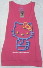 Hello Kitty Tank Top Tee PINK HOT TOPIC FREE USA SHIPPING LARGE NWT