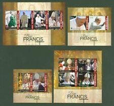 Prominente Gambia 2008 Papst Benedikt Pope Benedict Usa-reise Religion 5994 Kleinbogen Mnh