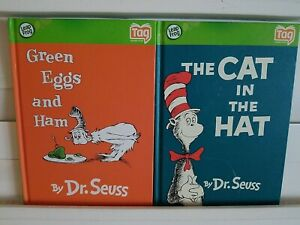 Leap Frog Tag LeapFrog Books The Cat In The Hat & Green Eggs & Ham. Dr. Seuss
