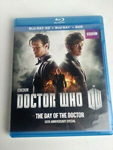 Doctor Who: The Day of the Doctor (Blu-ray/DVD, 2013, 2-Disc Set, 3D)