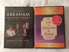 Abraham Hicks DVD Lot Introducing Secret Behind The Secret + Law of Attraction
