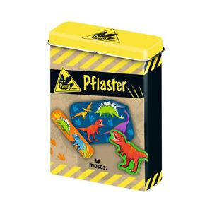 MOSES Dino Pflaster Erste Hilfe Kinderpflaster Dinosaurier Pflaster Helfer Junge