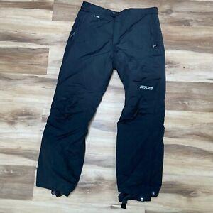 Spyder XT 5000mm Waterproof Snow Pants Black Mens XL