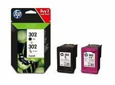 HP 302 Black & Colour Genuine Ink Cartridge For ENVY 4527 Inkjet Printer