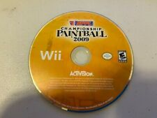 NPPL Championship Paintball 2009 (Nintendo Wii, 2008) - DISC ONLY - A1919