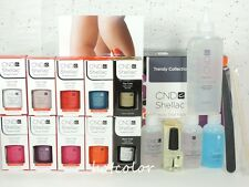 CND Gel TRENDY Trial Pack Kit of 8 Color & Base Top Coat / Intro Pack System