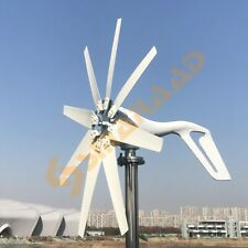1000w 24v Wind Turbine With 8 Blades Mppt Controller Small Wind Turbine For Home