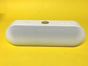 Authentic Beats Pill Plus Bluetooth speaker with charge out - White