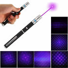 2-in-1 5mw Powerful 405nm Violet Laser Pointer Pen Visible Light Beam Lazer
