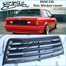 BMW 3 Series E30 Rear Window Louver ,ABS Plastic Window Grills Fits : 2 /4 doors