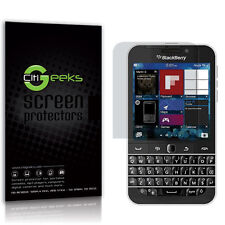 CitiGeeks® BlackBerry Classic Q20 Screen Protector Anti-Glare Matte [3-Pack]