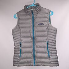 Patagonia Down Sweater Vest Feather Grey Small  (Women's)