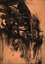 Mattia MORENI - Composizione n. 5 - 1960 - rara litografia originale firmata -
