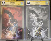 Thanos Legacy #1 CGC 9.8 SS Donny Cates Extremley Rare To Find!!!